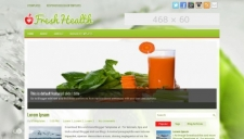 FreshHealth Blogger Template