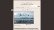Avicenna Blogger Template