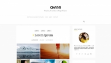 Charm Blogger Template