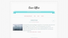 Ever After Blogger Template