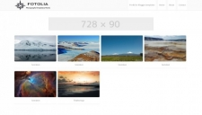 Fotolia Photography Blogger Template