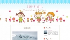 Happy Kiddies Blogger Template