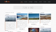 Infinite Blogger Template