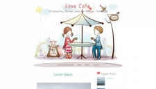 Love Cafe Blogger Template