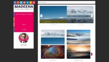 Madeeha Blogger Template
