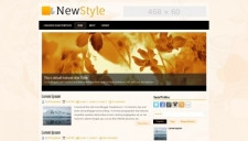 NewStyle Blogger Template