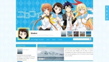 Nisekoi Blogger Template