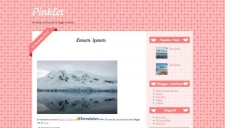 Pinklet Blogger Template
