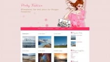 Pinky Fashion Blogger Template