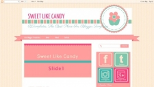 Sweet Like Candy Blogger Template