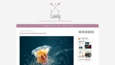 Lovely Blogger Template