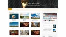 Oreki Houtarou Blogger Template