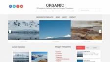 Organic Blogger Template