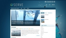 Serve Blogger Template