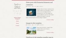 Typefocus Blogger Template