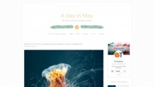 A day in May Blogger Template