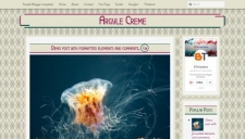 Argyle Creme Blogger Template