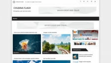 Chuana Flash Blogger Template