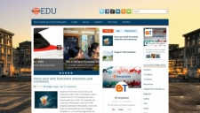 Edu Blogger Template