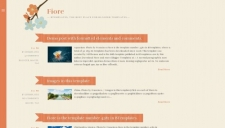 Fiore Blogger Template