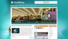 Hobbies Blogger Template