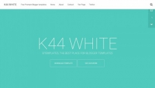 K44 White Blogger Template