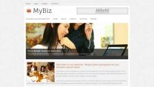 MyBiz Blogger Template