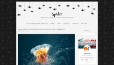 Spider Blogger Template