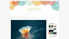 Spring Days Blogger Template