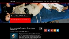 Tethys Blogger Template