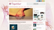 Together Blogger Template