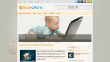 BabyStore Blogger Template