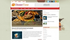 Business blogger templates 2018 dinnertime blogger template wajeb Images