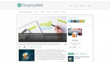 FinanceNet Blogger Template