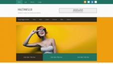 HaletanisLux Blogger Template