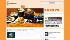 HealthyLiving Blogger Template