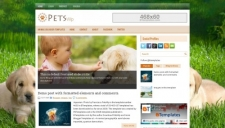 PetsWp Blogger Template