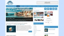 SkyCity Blogger Template