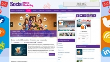 SocialMediaMarketing Blogger Template