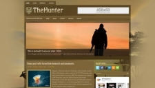 TheHunter Blogger Template