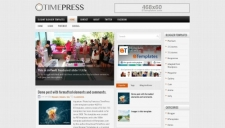 TimePress Blogger Template