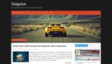 Tungsten Blogger Template