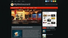 WpRestaurant Blogger Template