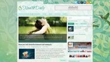 HealthDaily Blogger Template
