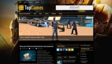 TopGames Blogger Template