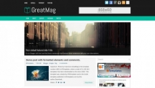Business blogger templates 2018 greatmag blogger template accmission