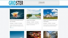 Gridster Blogger Template