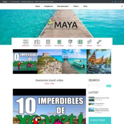 Maya Blogger Template