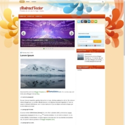 AbstractVector Blogger Template