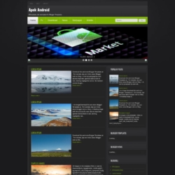 Apek Android Blogger Template